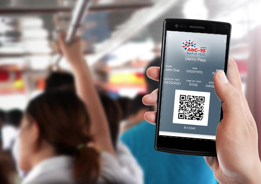 AbC19 app-on train